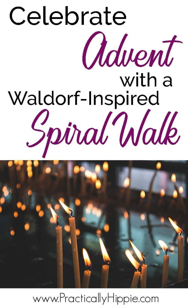 Advent Spiral Walk | www.PracticallyHippie.com
