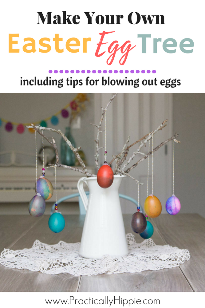 How to blow out eggs