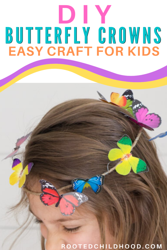 DIY Butterfly crowns