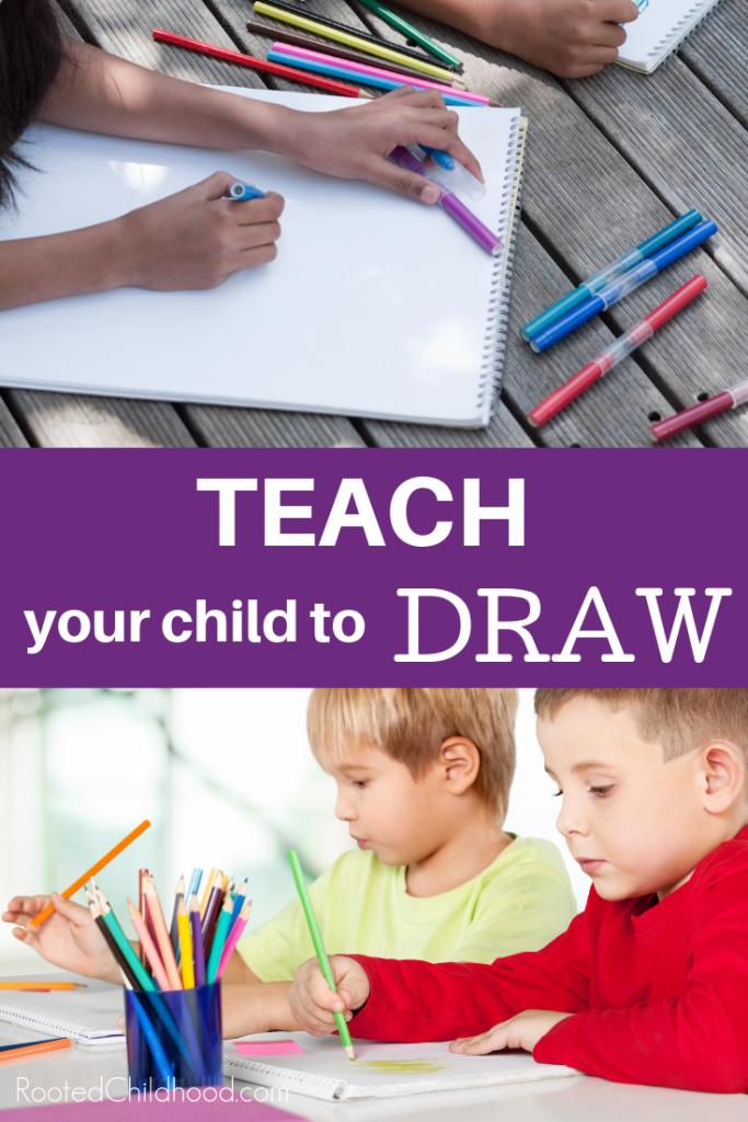 Teach your child to draw