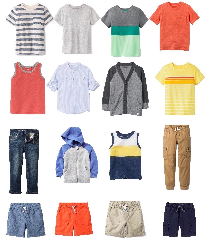 ea1ac8fbe66c9 Simplify your life and laundry routine with a capsule wardrobe. This set of  mix and
