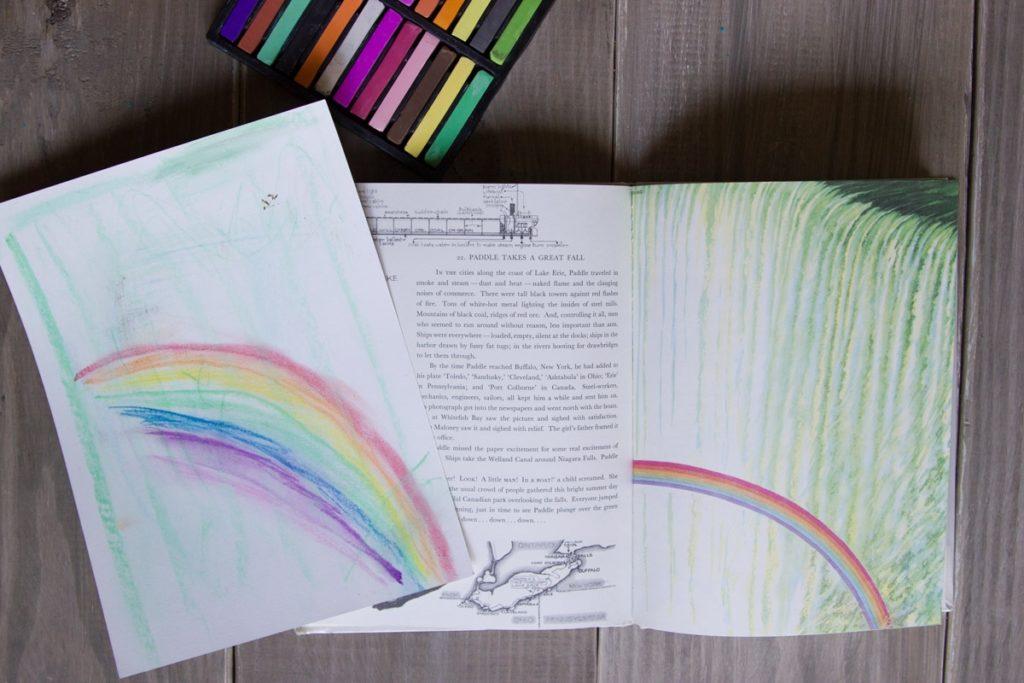 Charlotte Mason drawing lesson
