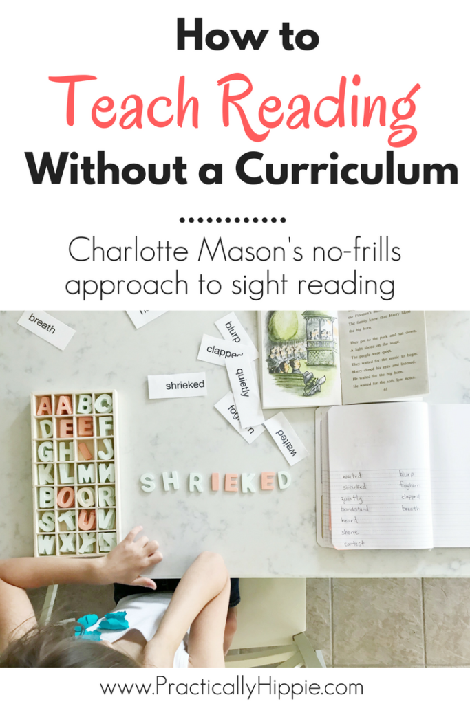 Teaching a child to read should be a joyful experience! We are going back to basics with Charlotte Mason reading lessons beginning with sight reading. Find out how to choose reading material and build a framework for your lessons and get your child reading!