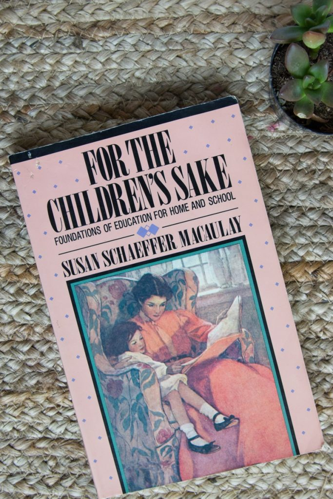For the Children's Sake | a must-read homeschool resource