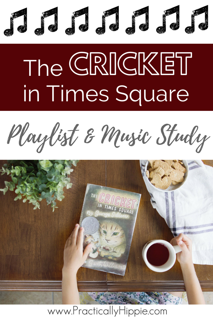 Chester Cricket's musical talent has him playing everything from opera to hymns to Italian folk songs. The music flows through the chapters in a beautiful way, adding to each scene as we see how music can affect people in deep, profound ways. Use this playlist and study guide to dive deeper into the music.  #homeschool