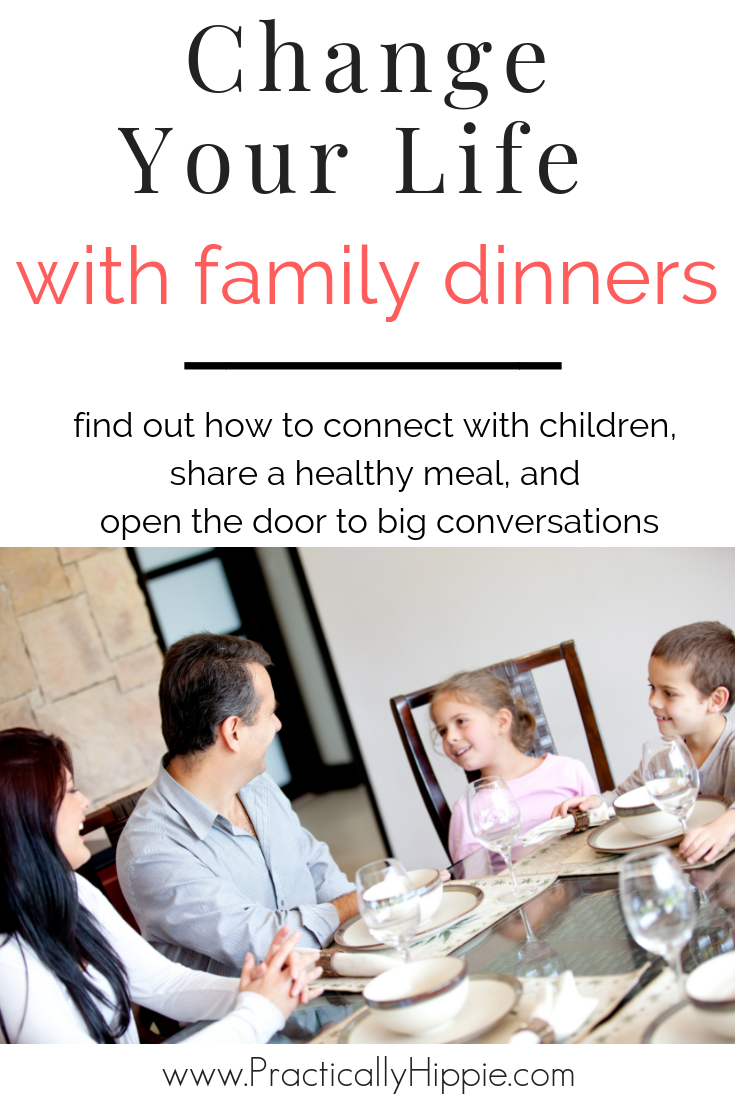 There are endless benefits of family dinners. Connect with children, eat healthier, engage in good conversation, and watch the magic happen.