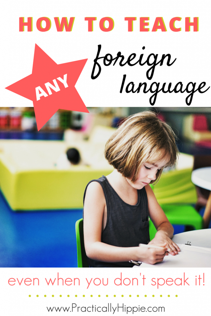 How to teach a foreign language when you don't speak it~Want to know how to teach a foreign language when you don't speak it? Find out how to learn new vocabulary and use songs, stories, and more to gain fluency.