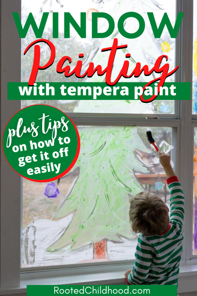 Window Painting for Kids