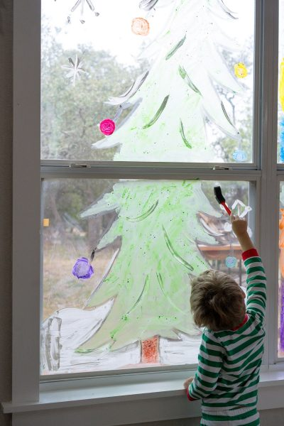 window painting