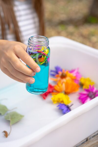 Flower Potion Sensory Play