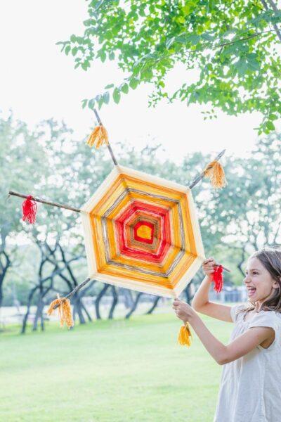God's eye yarn craft