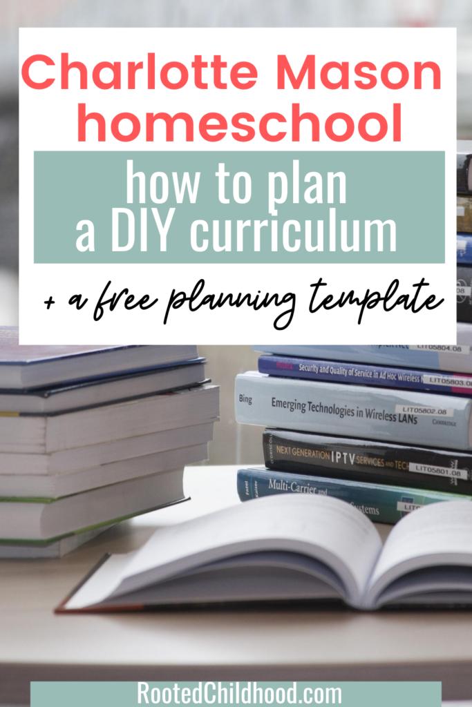 planning a Charlotte Mason curriculum